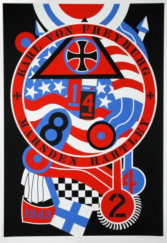 Hartley Elegies: Berlin Series, Kvf II 1990 by Robert Indiana