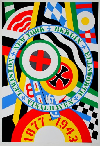 Hartley Elegies: Berlin Series, Kvf IV 1990 by Robert Indiana