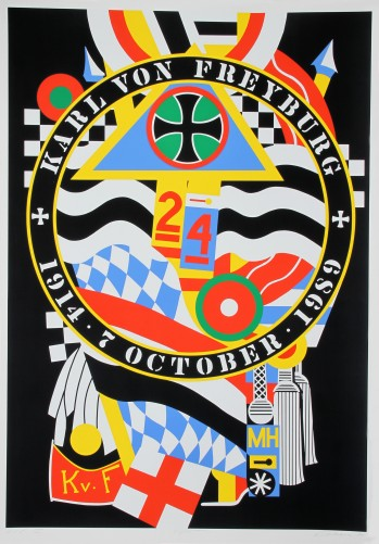 Hartley Elegies: Berlin Series, Kvf I 1990 by Robert Indiana