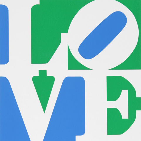 Book of Love 8 1996 by Robert Indiana