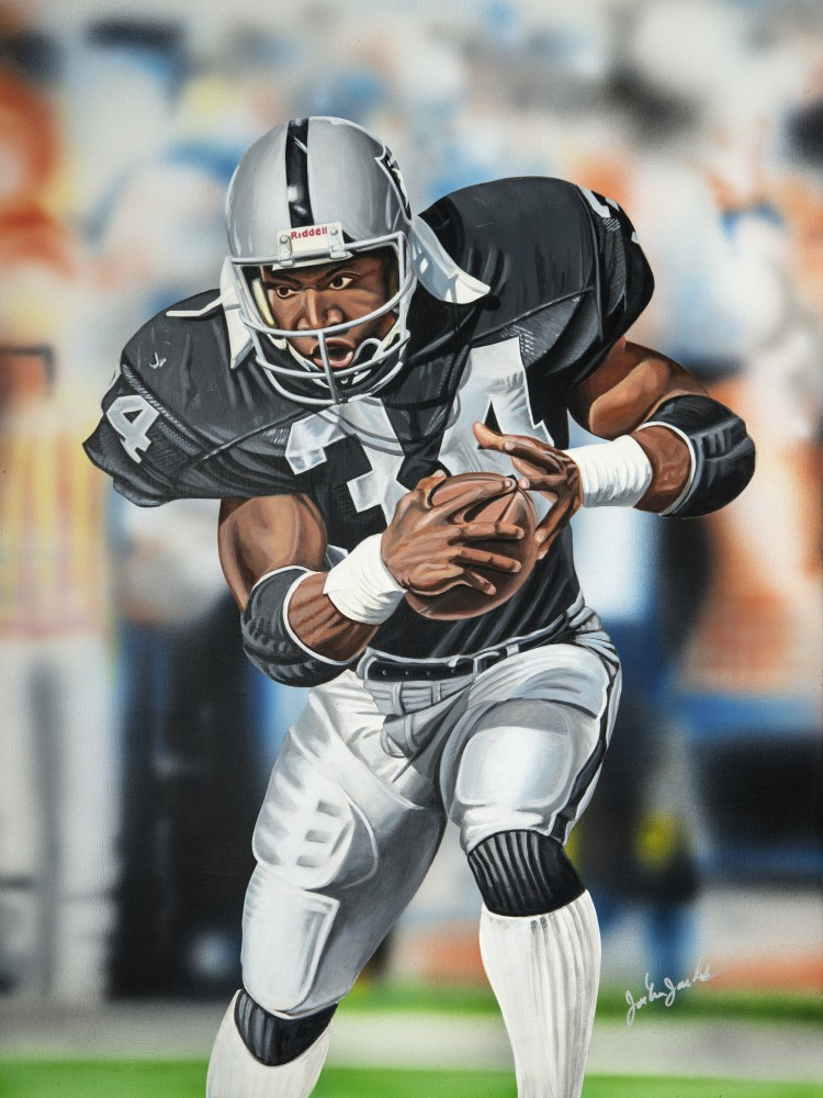 Bo Jackson, Bo Knows 2016 27x21