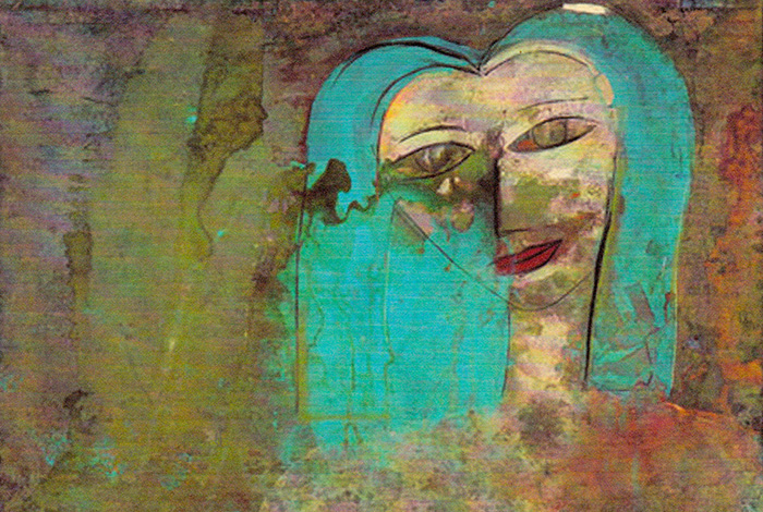 Untitled Woman 2008 45x63