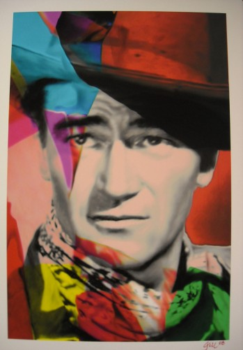 John Wayne Red Unique