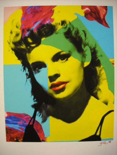 Judy Garland Blue Unique 24x18