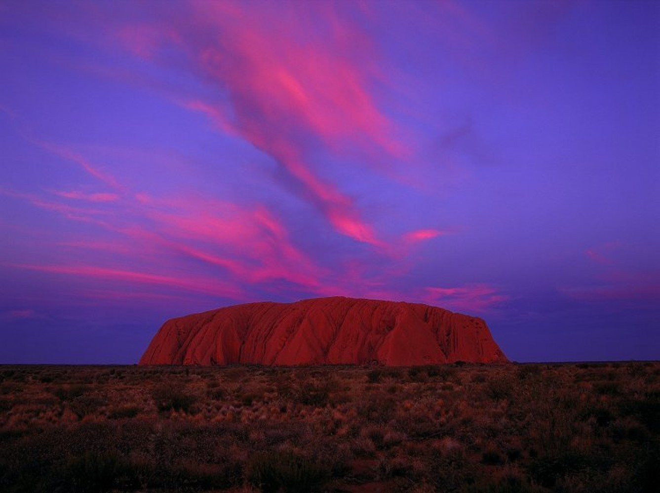 Uluru Sunset (Ayers Rock) Australia