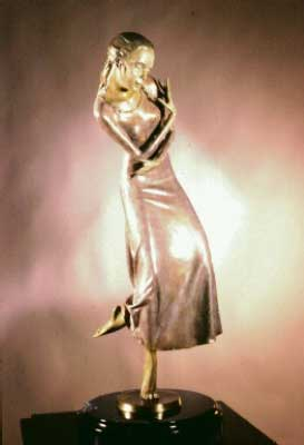 Dreams Bronze Sculpture 1998