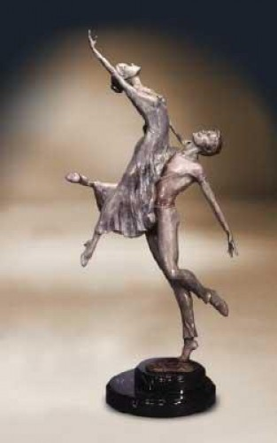 Passion Nocturna Bronze Sculpture 2000