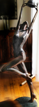 Miss Mondy Bronze Sculpture 1987