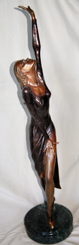 Andrea Bronze Sculpture 1987