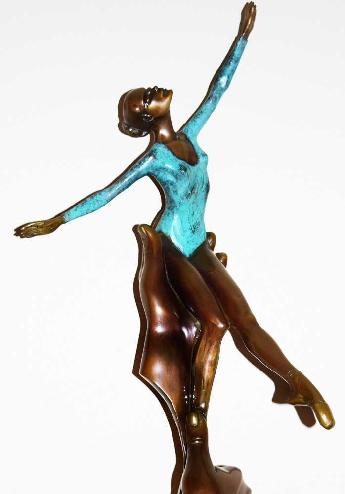 Inspiration Bronze Sculpture 1987 29 in