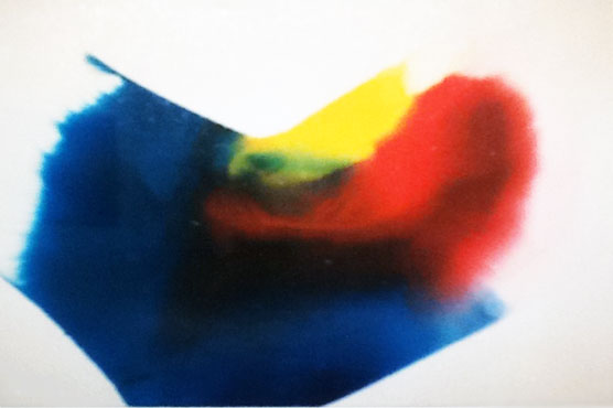 Phenomena Prism Wind Watercolor 1994