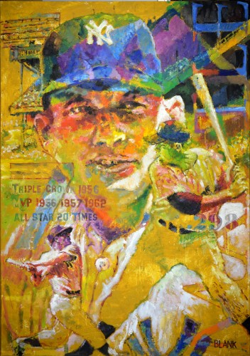Mickey Mantle 2012 40x28