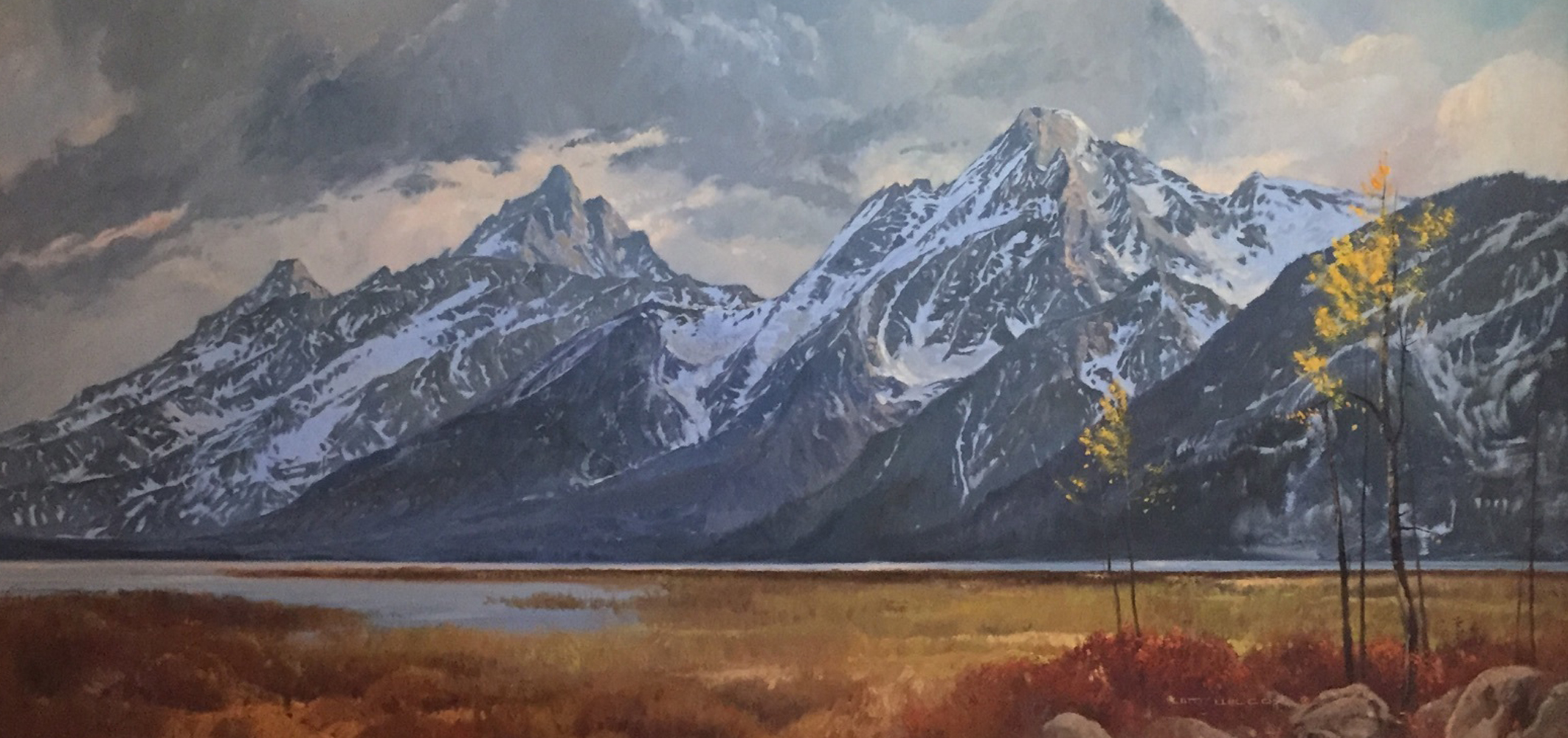 Grand Teton Lizard Creek  1978 57x34