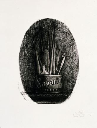 Savarin 4 (Oval) 1978 by Jasper Johns