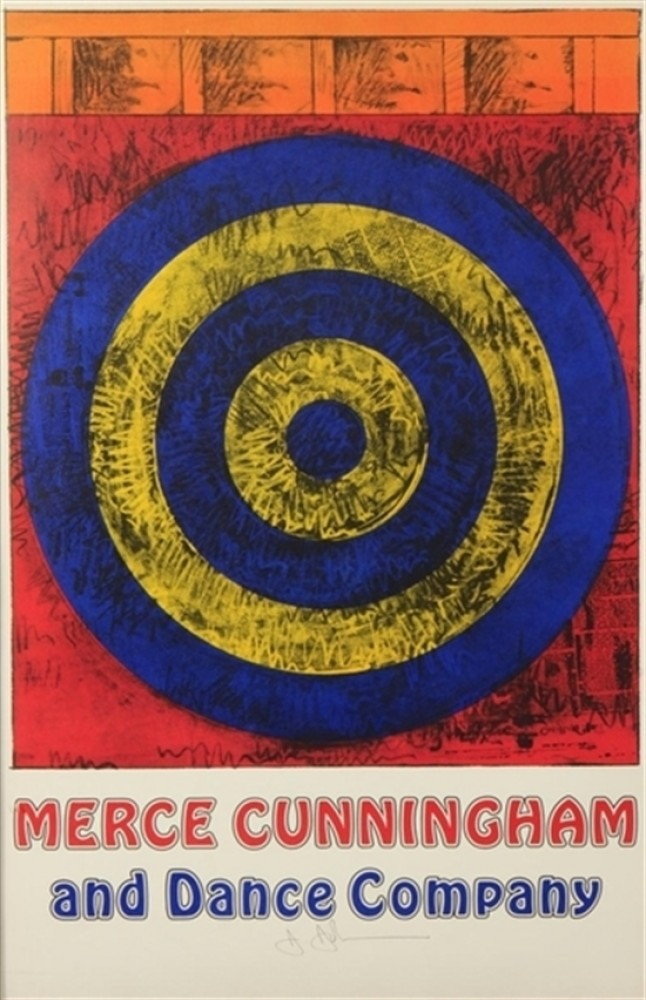 Target For Merce Cunningham (Signed) 1968