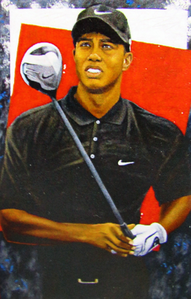 Grand Master 2006 72x48 Tiger Woods