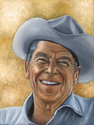 Gipper (Ronald Reagan) 24x18
