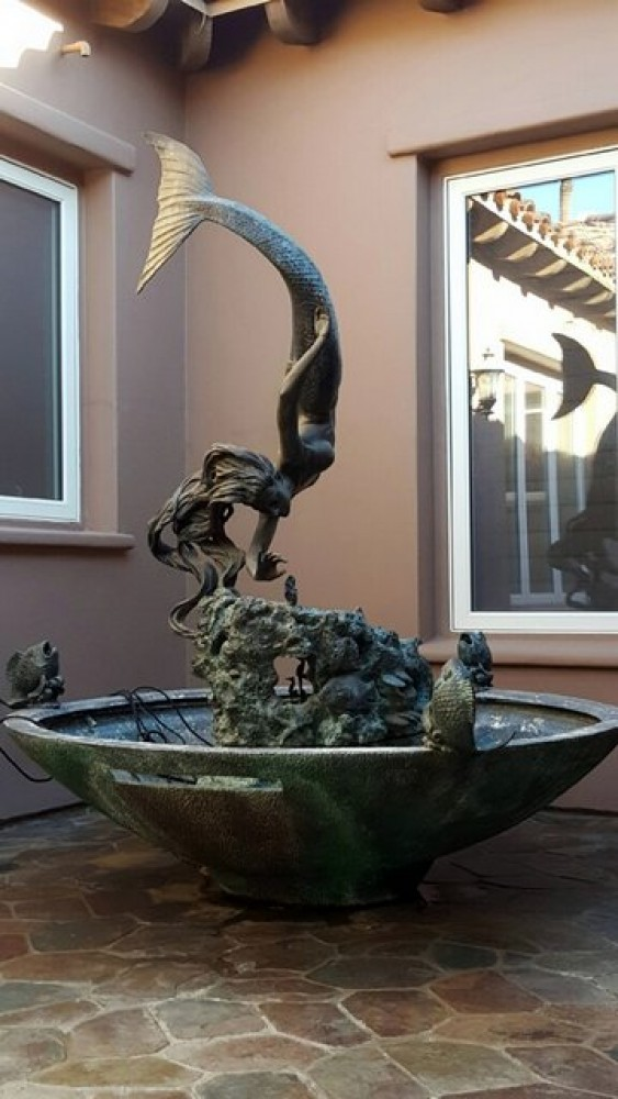 Glory of the Seas - Life Size Monument Fountain 88x69