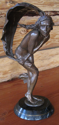 Vision in the Wind  Bronze Sculpture 1988