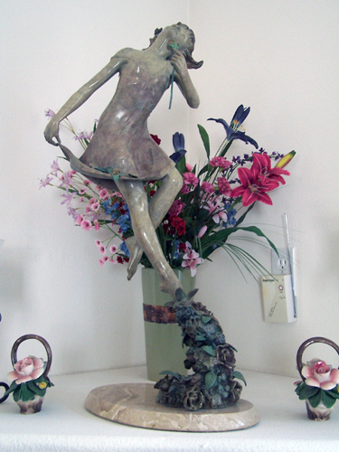 Flora Bronze Sculpture 1997