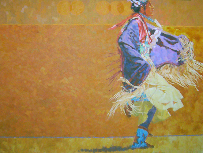 Shawl Dancer 48x60