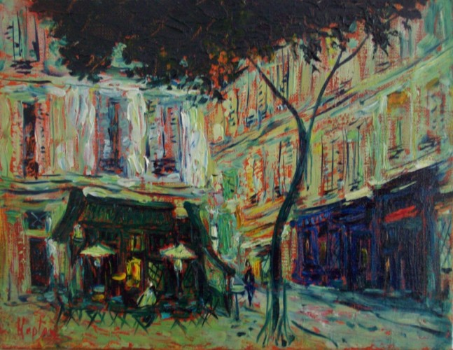 Paris, Marais 10x 13 2014 by Mark Kaplan