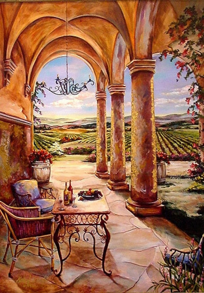 Loggia in the Valley 51x66