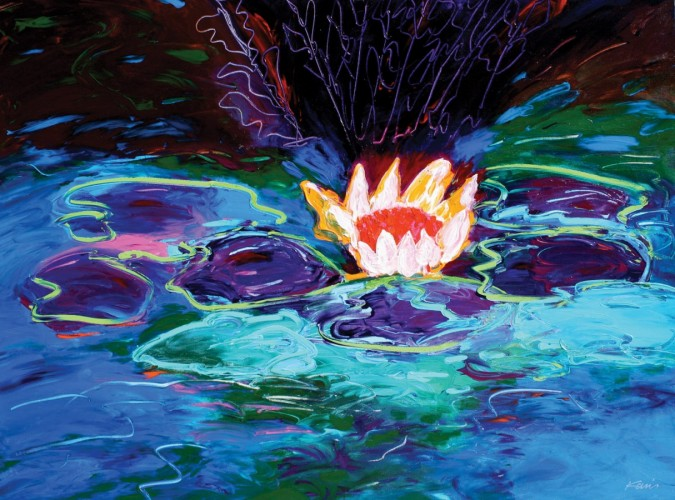 Monet's Water Lillies #1