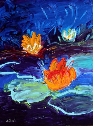 Monet's Water Lillies #3 24x18