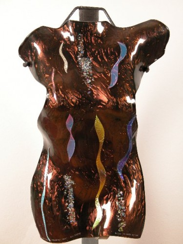 Fecund Imagination Glass Sculpture 21 in