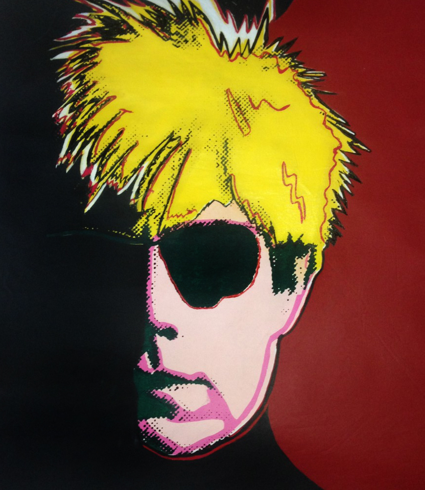 Andy Warhol  Unique 1988 36x44