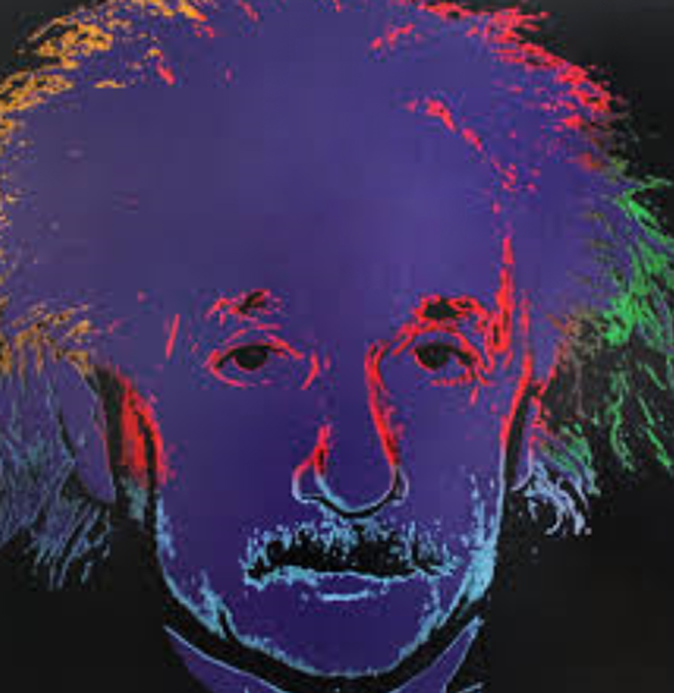 Einstein State II Embellished (Silver, of Two Total States) 1996