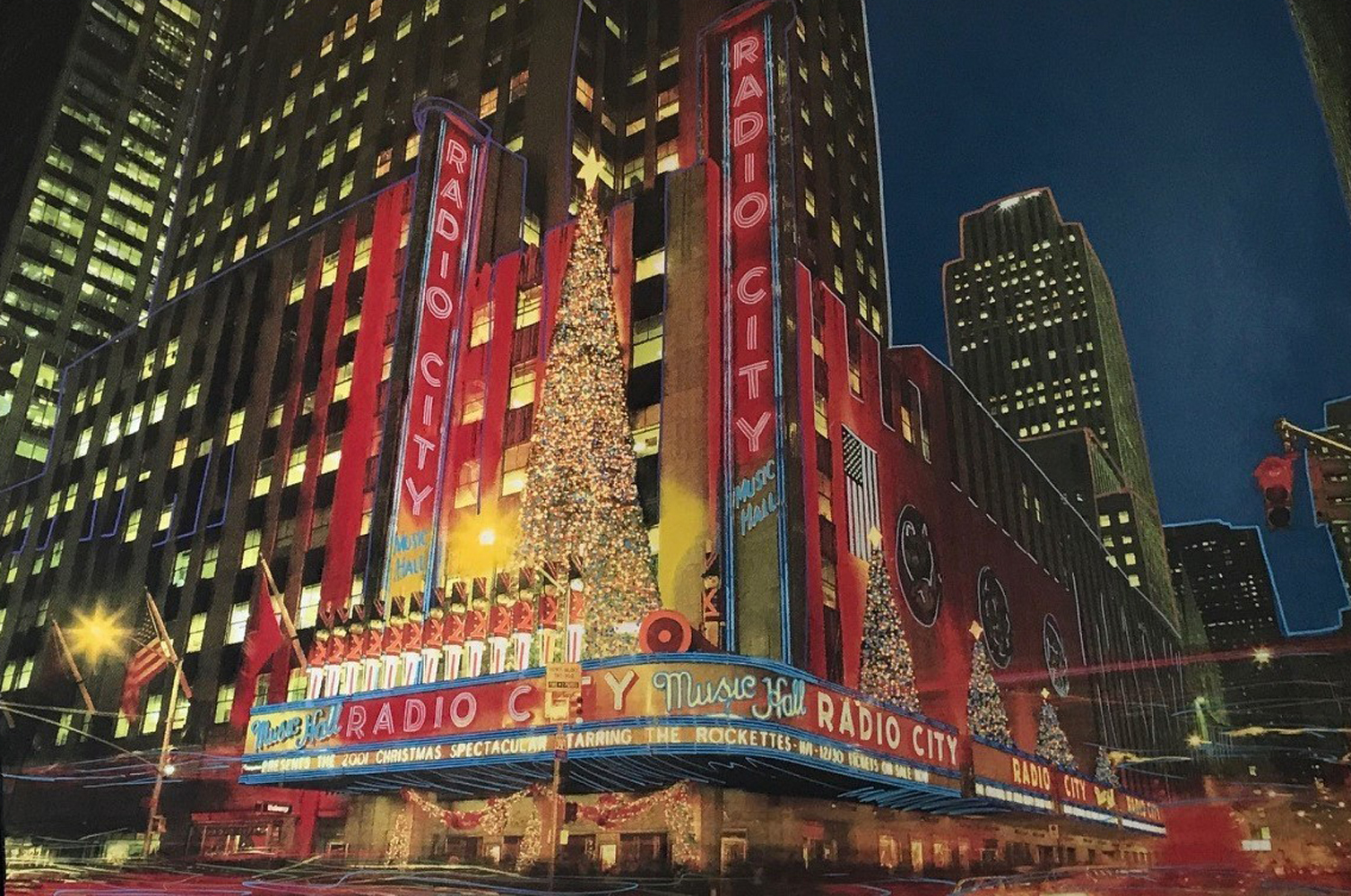 Radio City Music Hall 2008 72x46 New York