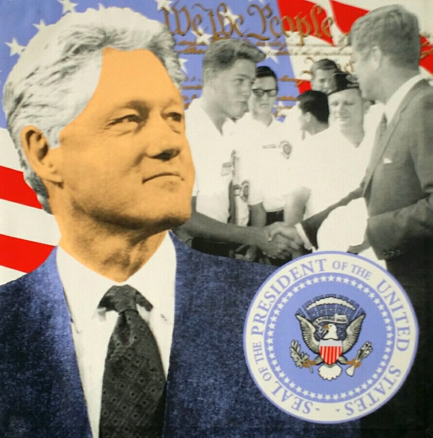 Bill Clinton Dark Blue 2004