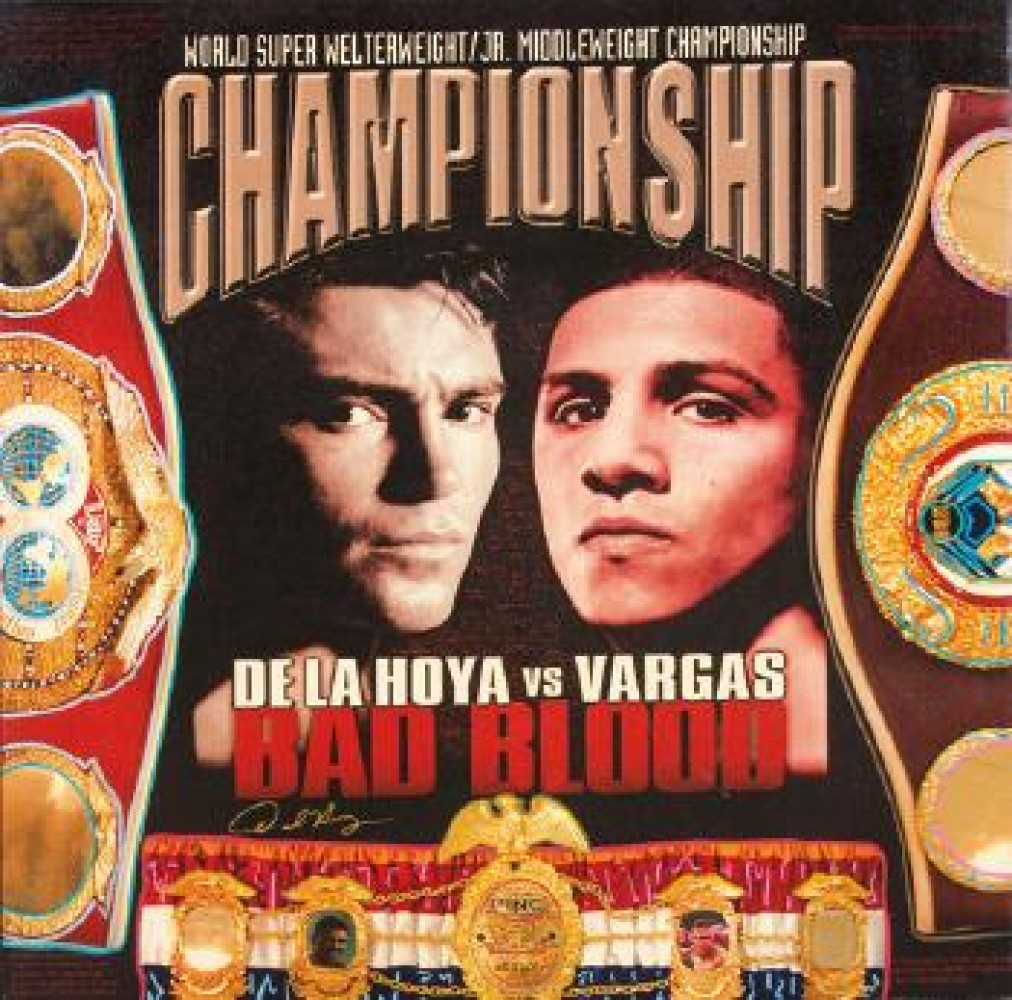 De La Hoya vs Vargas, Bad Blood AP HS De La Hoya
