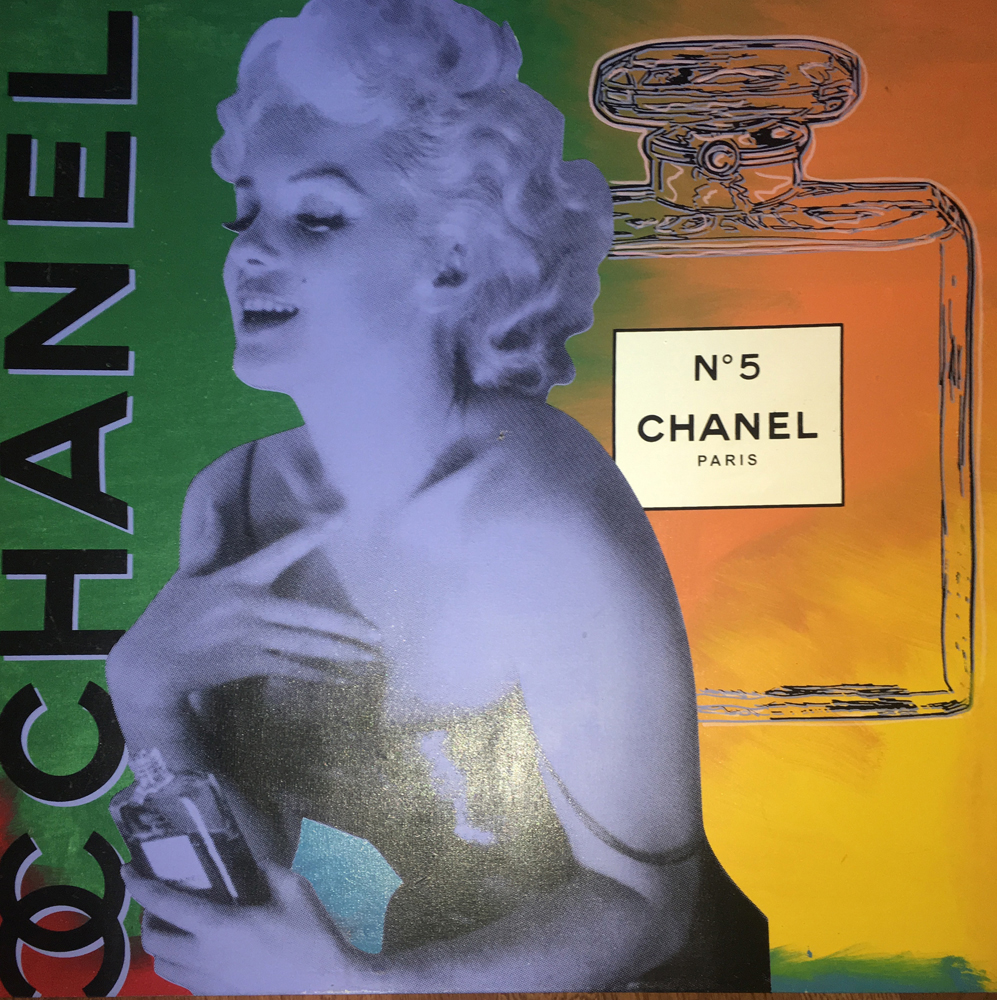 Marilyn Monroe Chanel #5  Unique 54x54