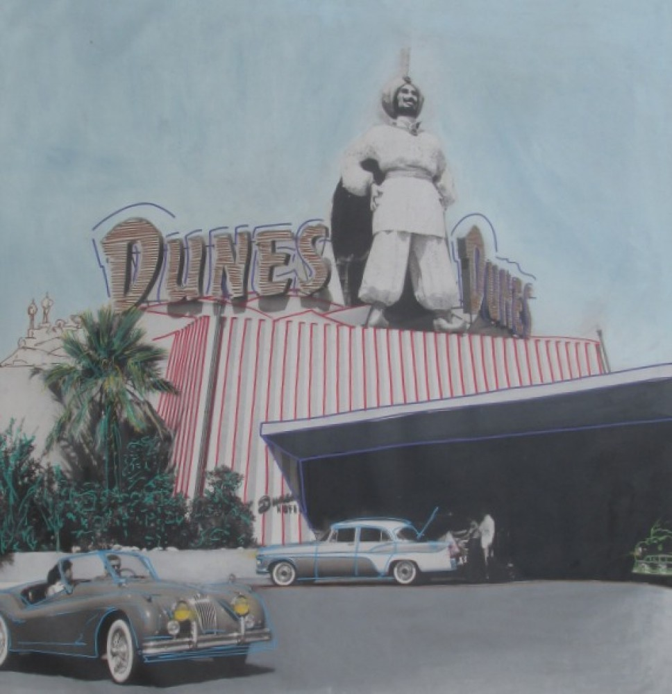 Old Vegas: Dunes Hotel Unique, Embellished  2004