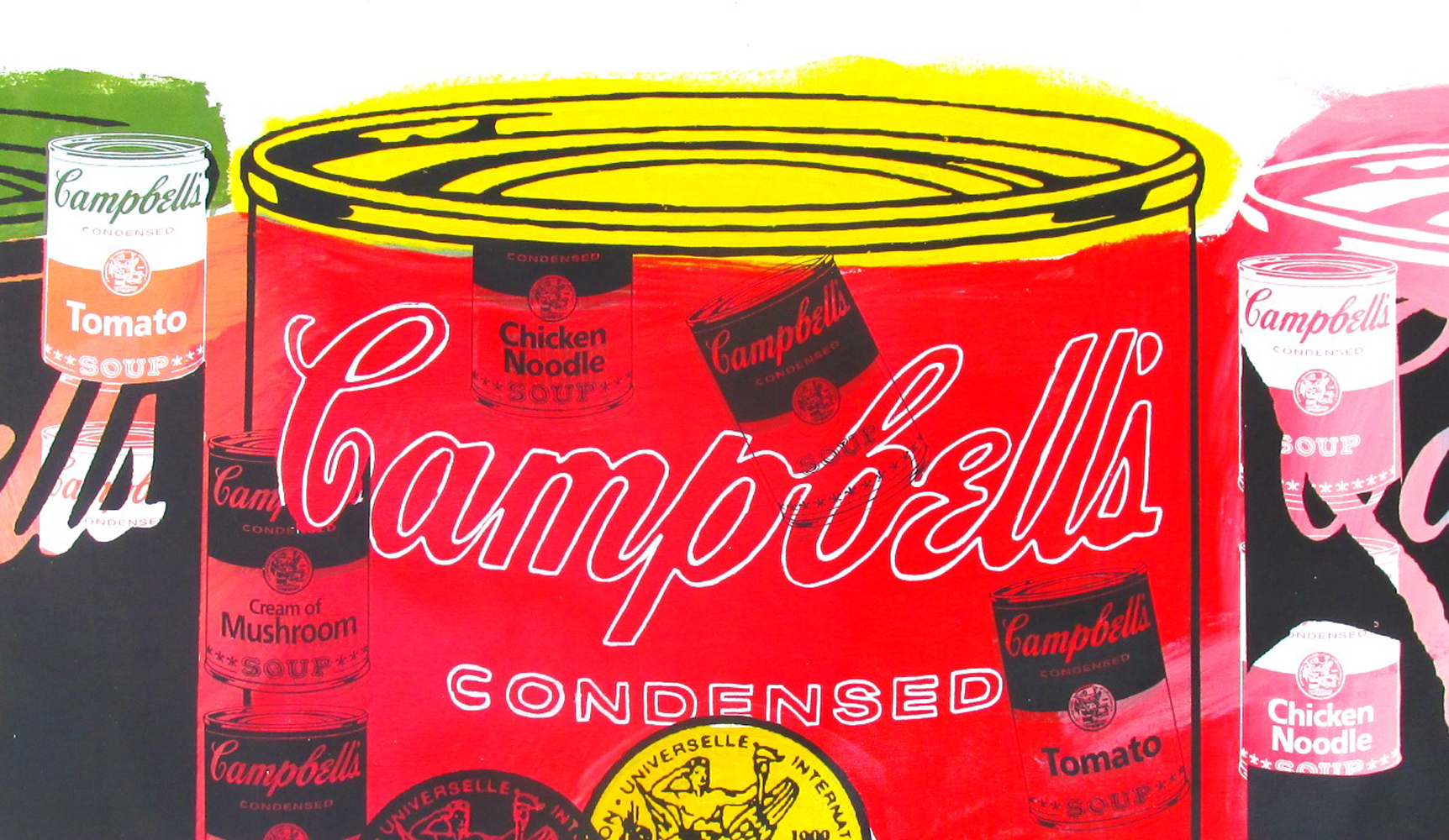 Campbell's 3 Cans 1995 Unique 29x32