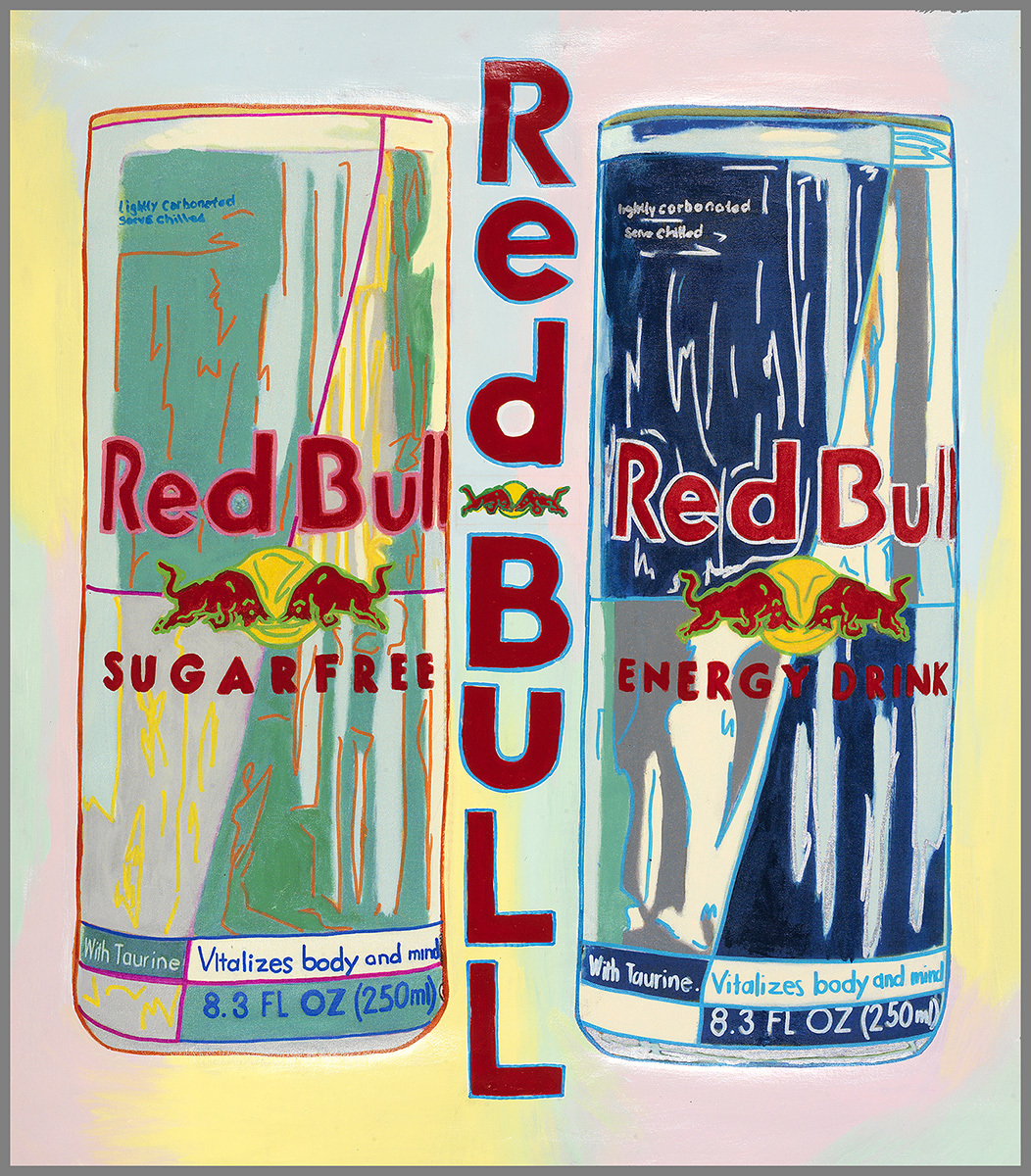Red Bull 2004 36x32 by Steve Kaufman