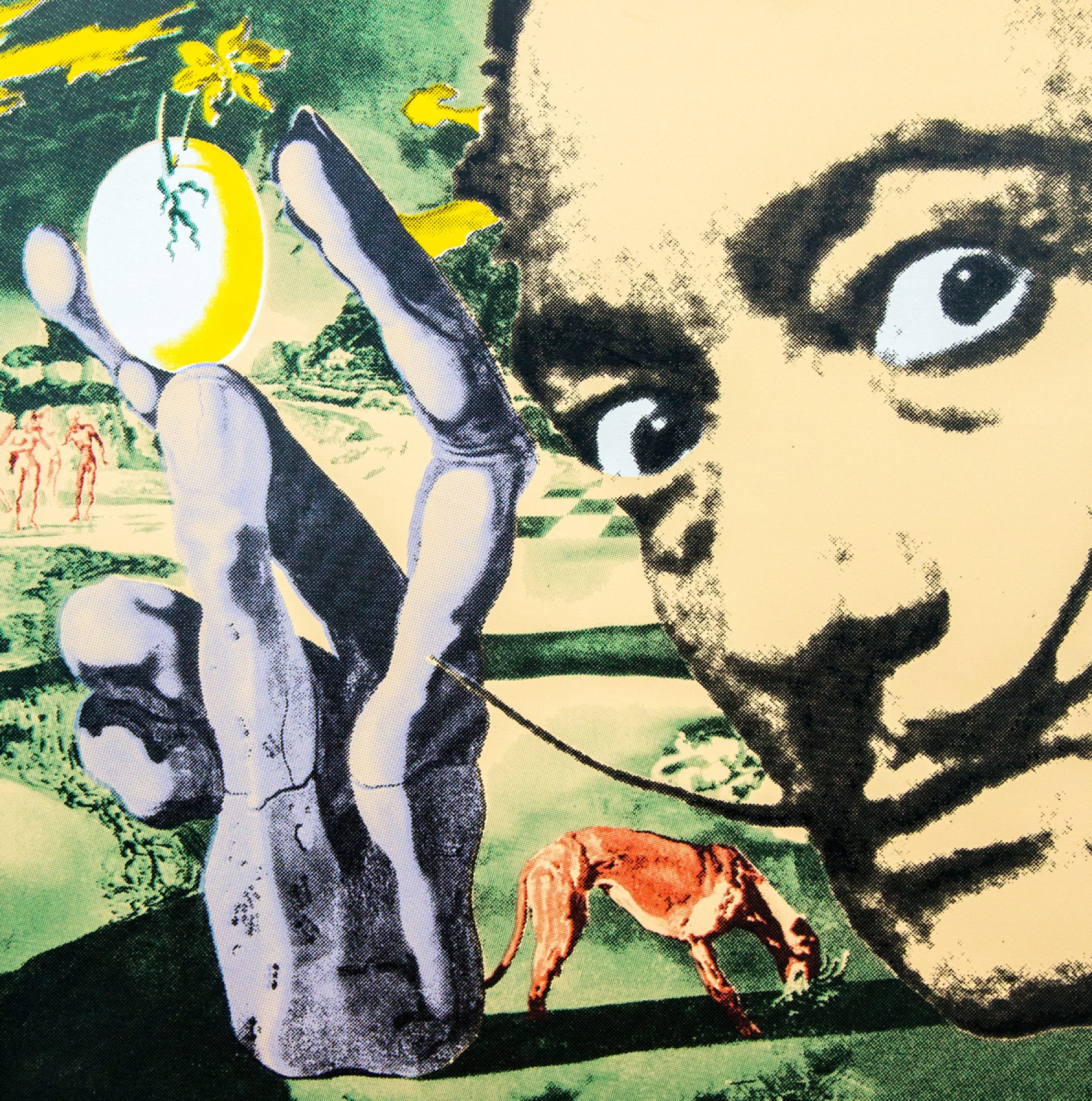 Dali With Egg 2006 Embellished