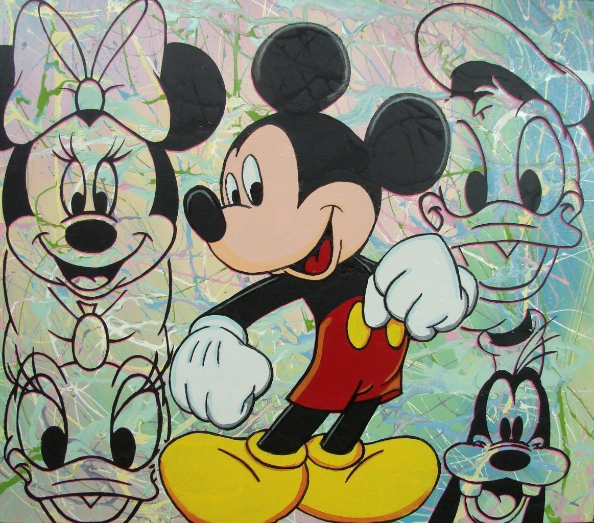 Mickey And the Gang 36x40