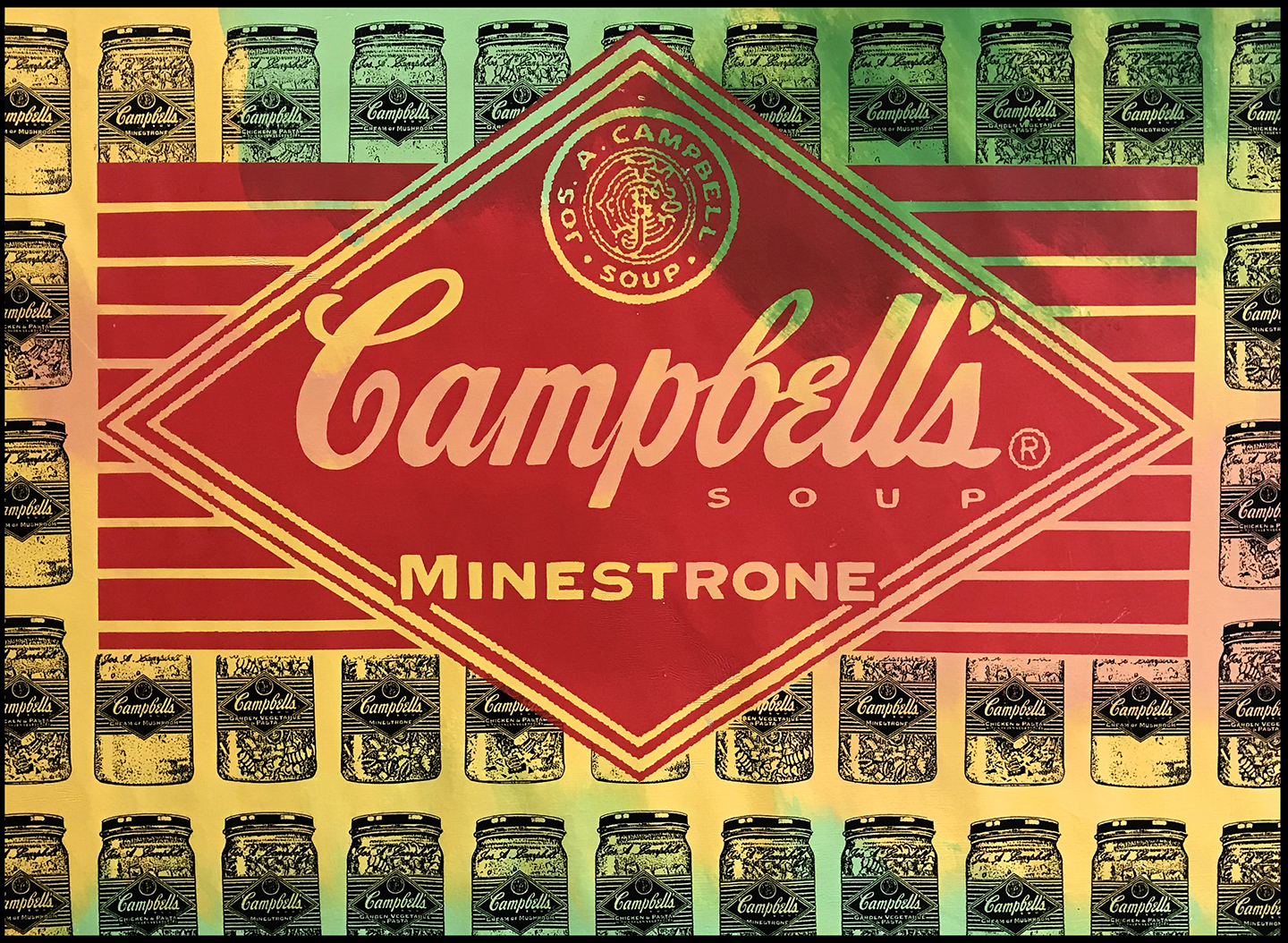 Campbell's Diamond Minestroni Soup AP 1997