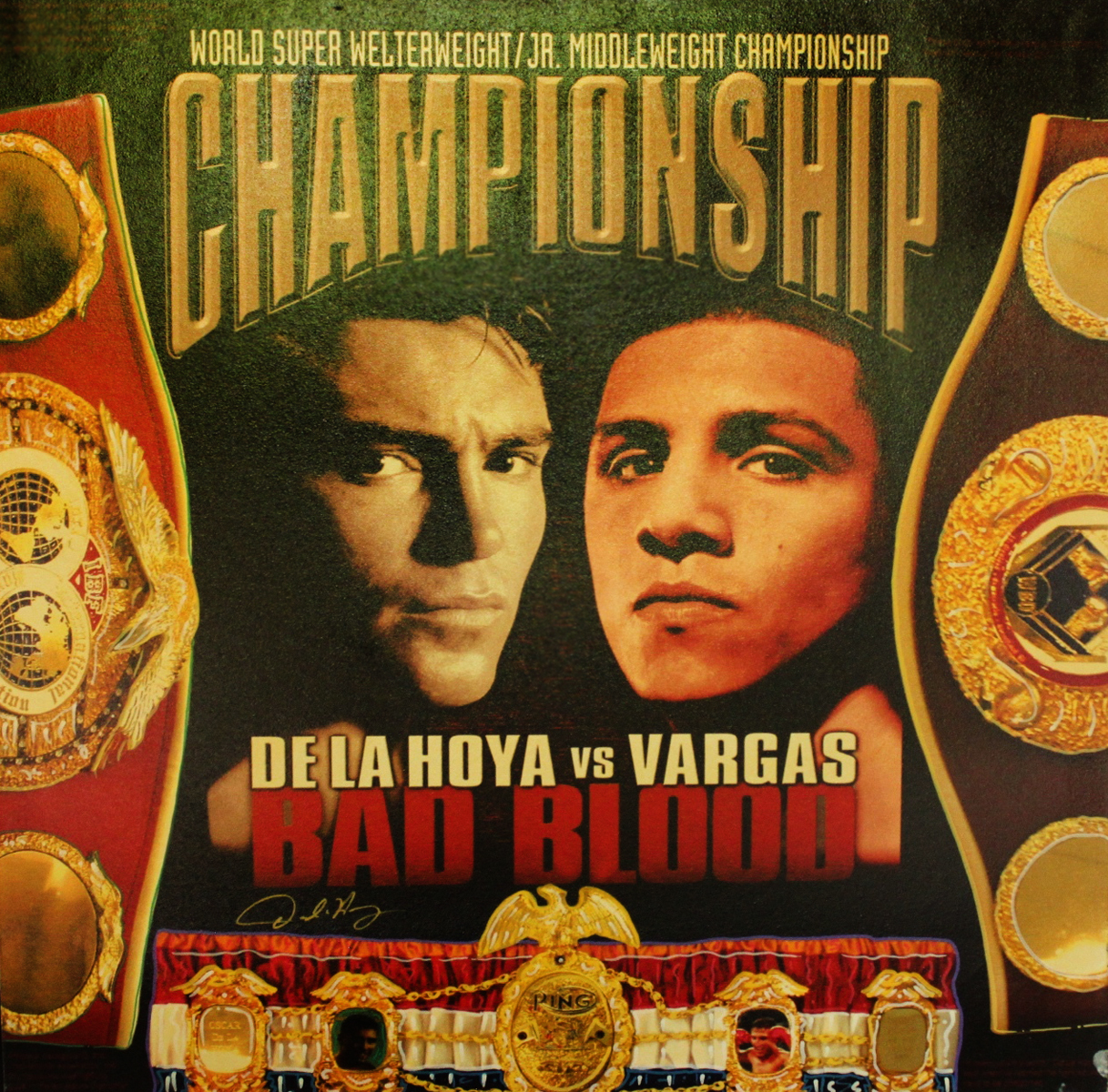 De La Hoya vs. Vargas - Bad Blood 2002