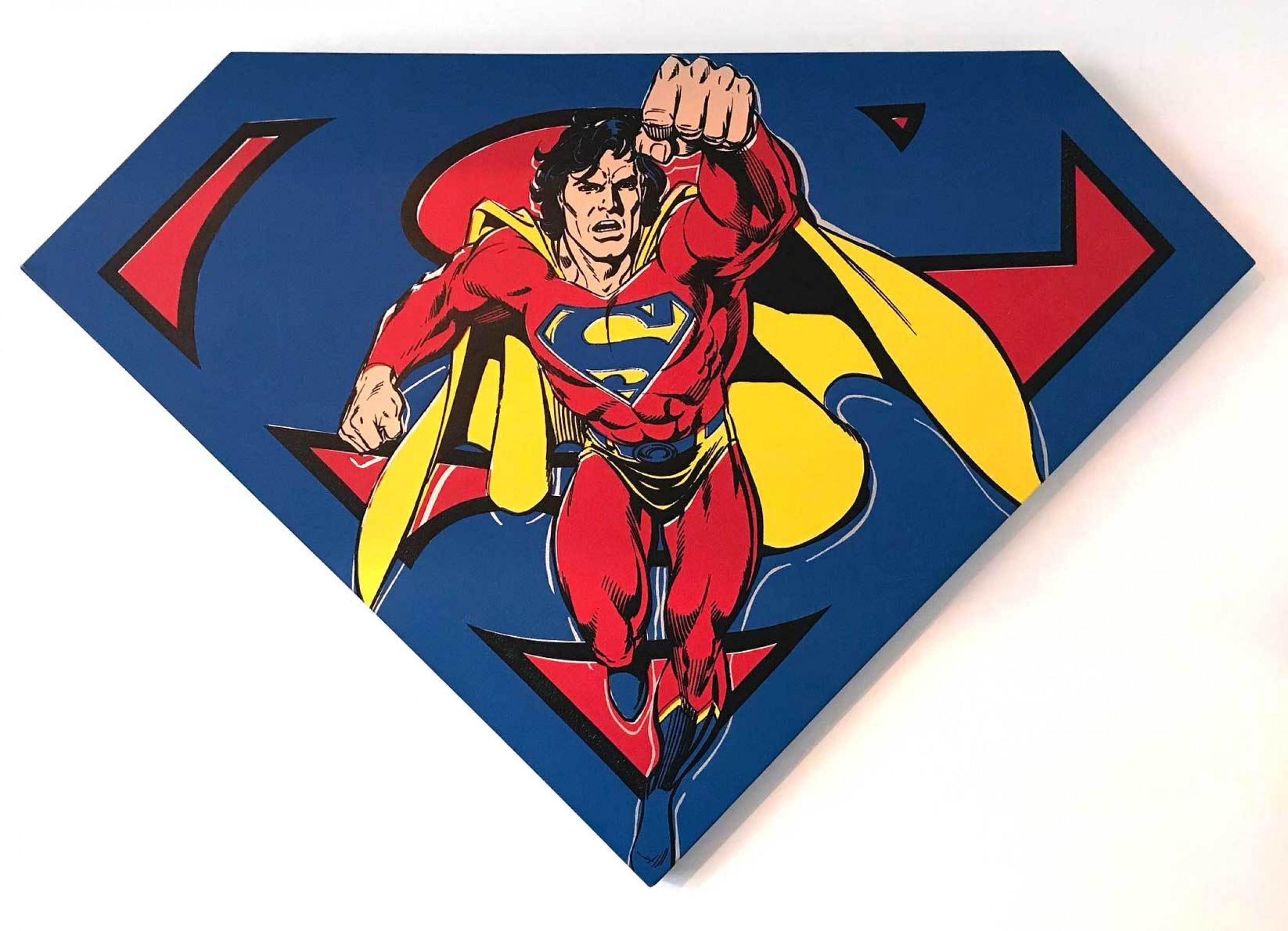 Superman Shield (Blue) 1995