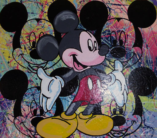 Mickey (Pollack) Unique 36x40