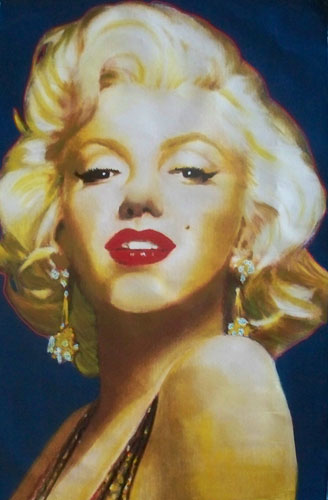Marilyn Monroe Stamp Unique 54x31