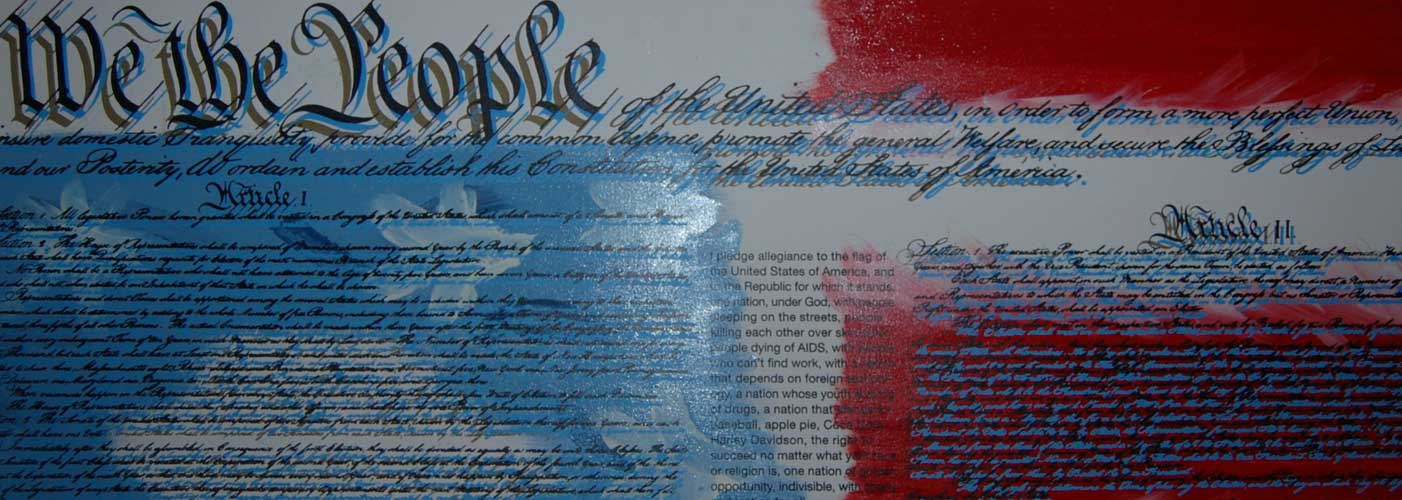 We the People Constitution Embellished