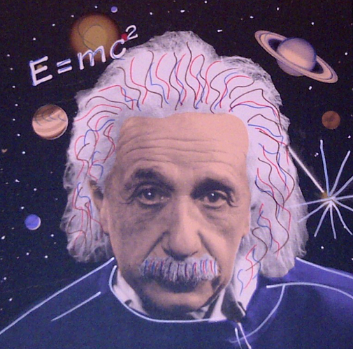 Albert Einstein E=mc2