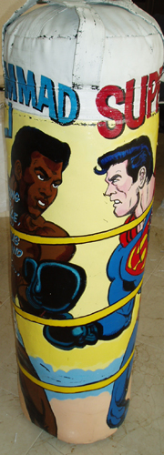 Superman/Ali Punching Bag Unique