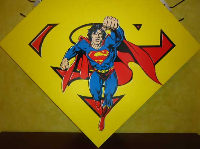 Superman Shield, Yellow AP